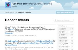 Tweetnest Screenshot