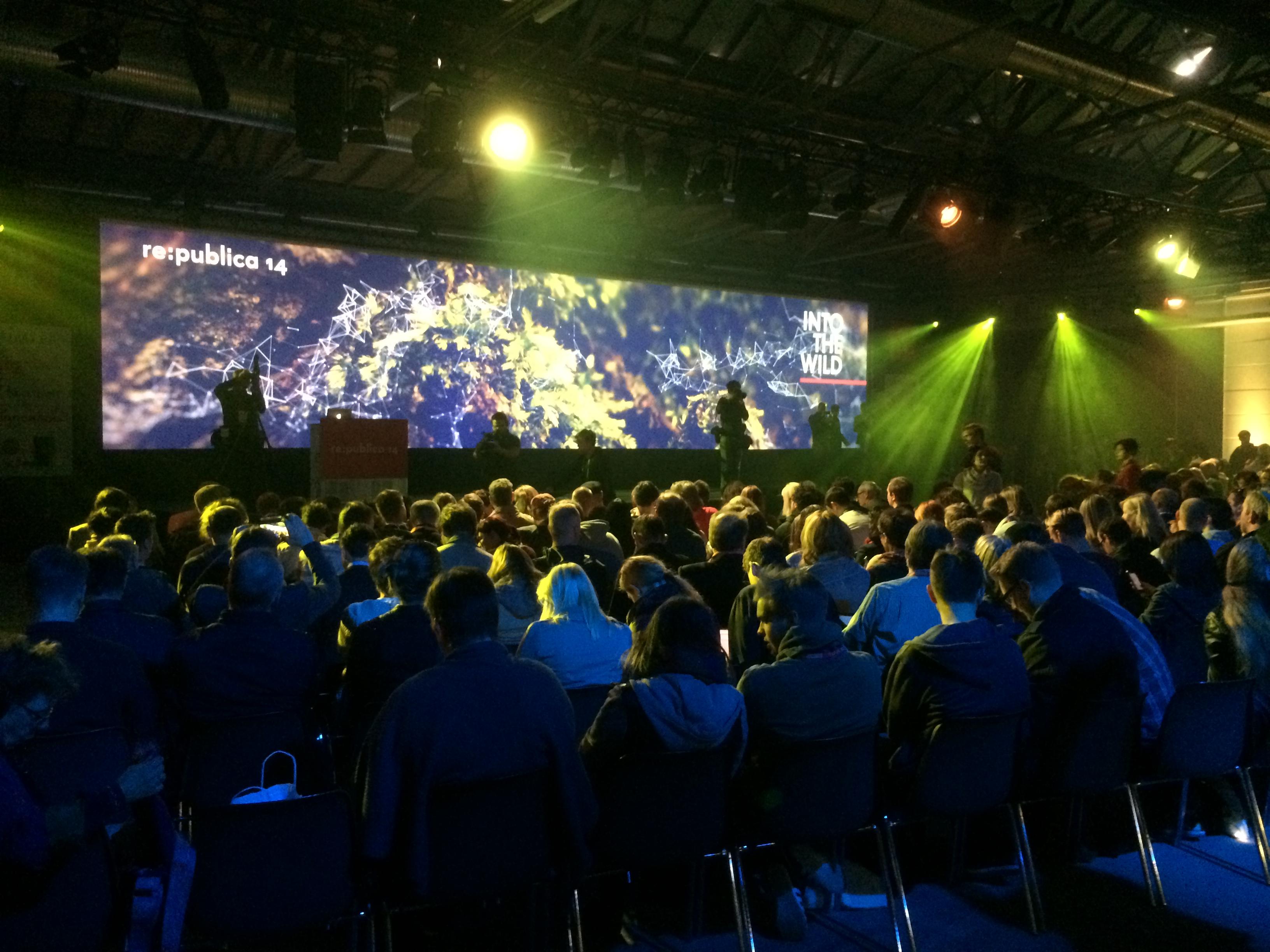re:publica 2014: Als David Hasselhoff sang und Geschichte getwittert wurde #rp14
