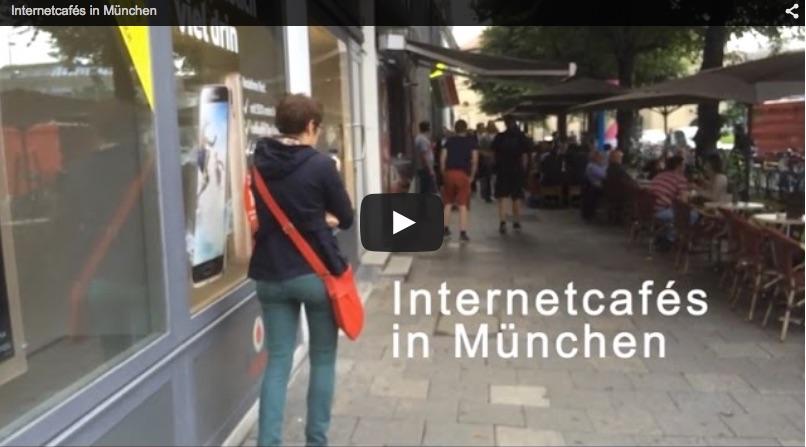 Internetcafés in München (Fortbildung Online-Video I)
