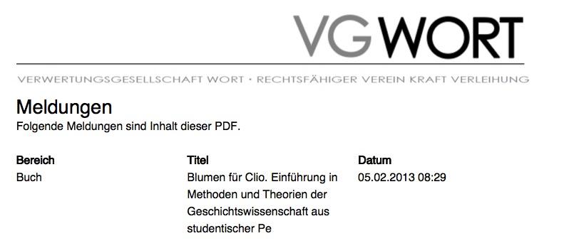 online veröffentlichung dissertation vg-wort