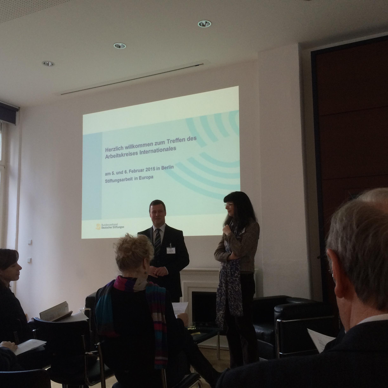Crowdfunding als Forschungsfinanzierung? Vortrag beim Bundesverband Deutscher Stiftungen am 6.2.2015 in Berlin