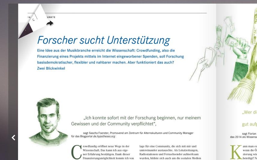 Crowdfunding in der Wissenschaft: Pro (und Contra) im Helmholtz-Magazin