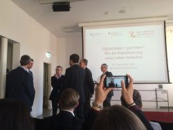 Gut Leben in Deutschland - Bonn Thomas de Maizière - Digitalisierung
